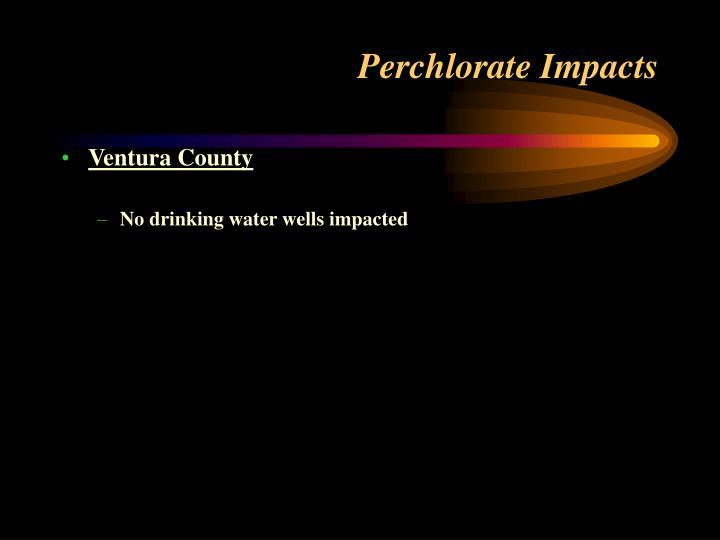 Perchlorate Impacts