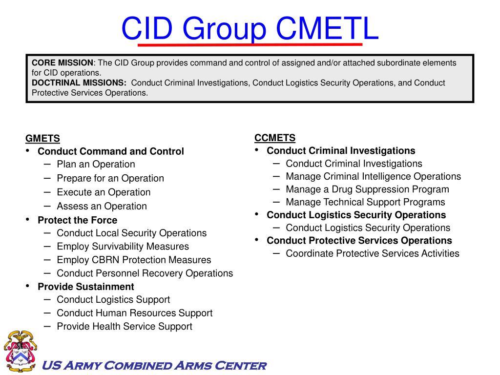 CID Group CMETL