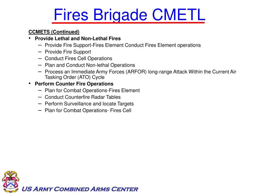 Fires Brigade CMETL