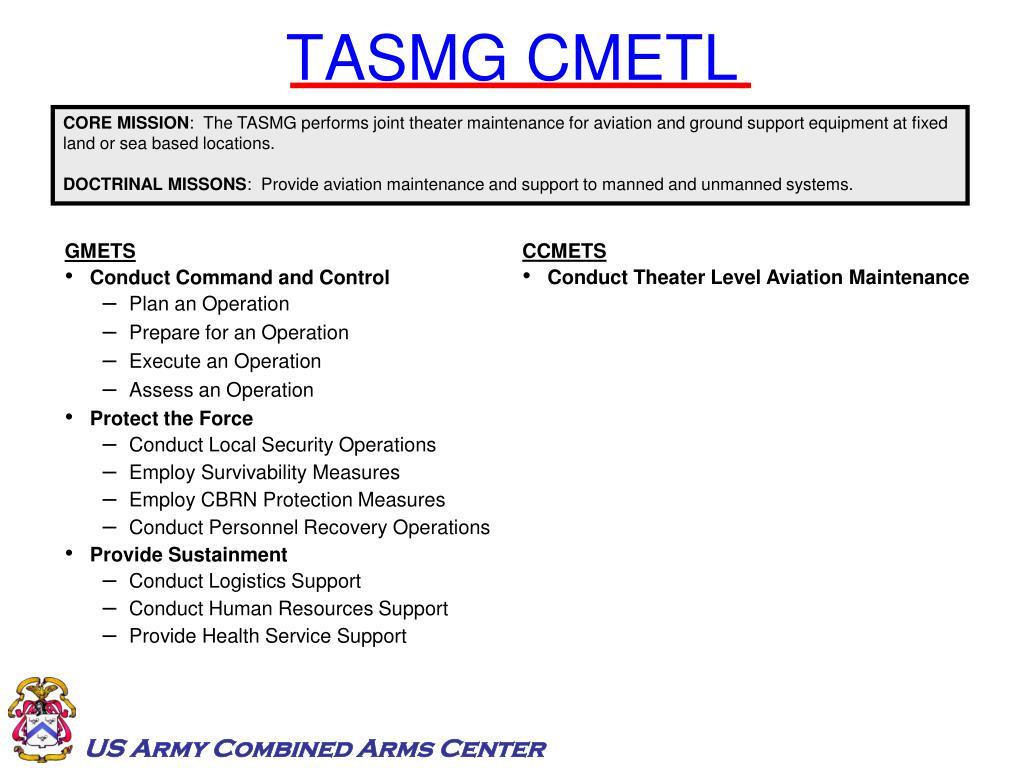 TASMG CMETL