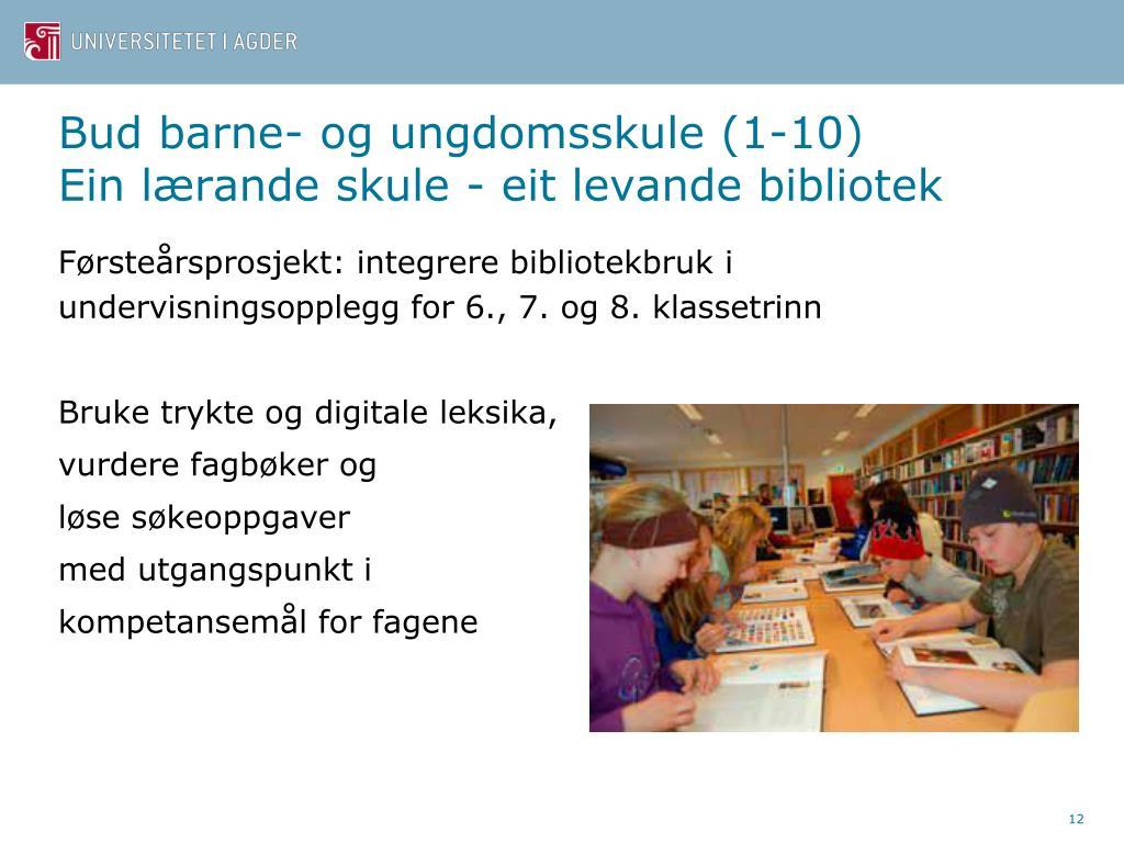 Bud barne- og ungdomsskule (1-10)