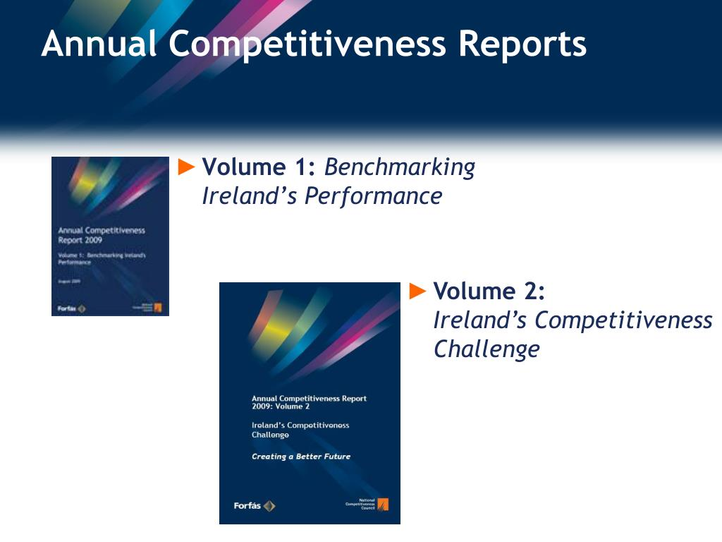 Annual Competitiveness Reports