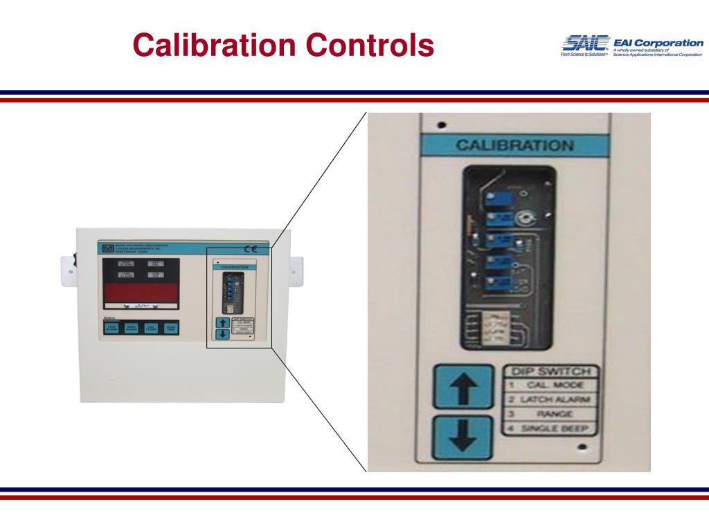 Calibration Controls