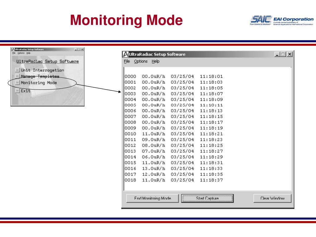 Monitoring Mode