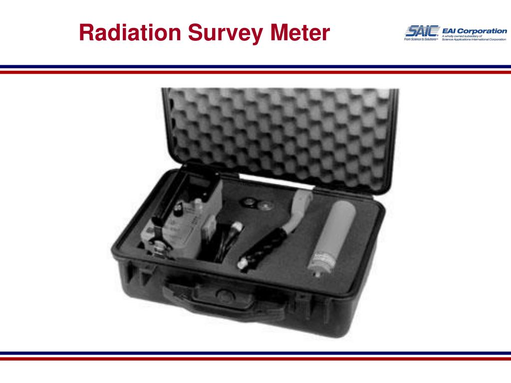 Radiation Survey Meter
