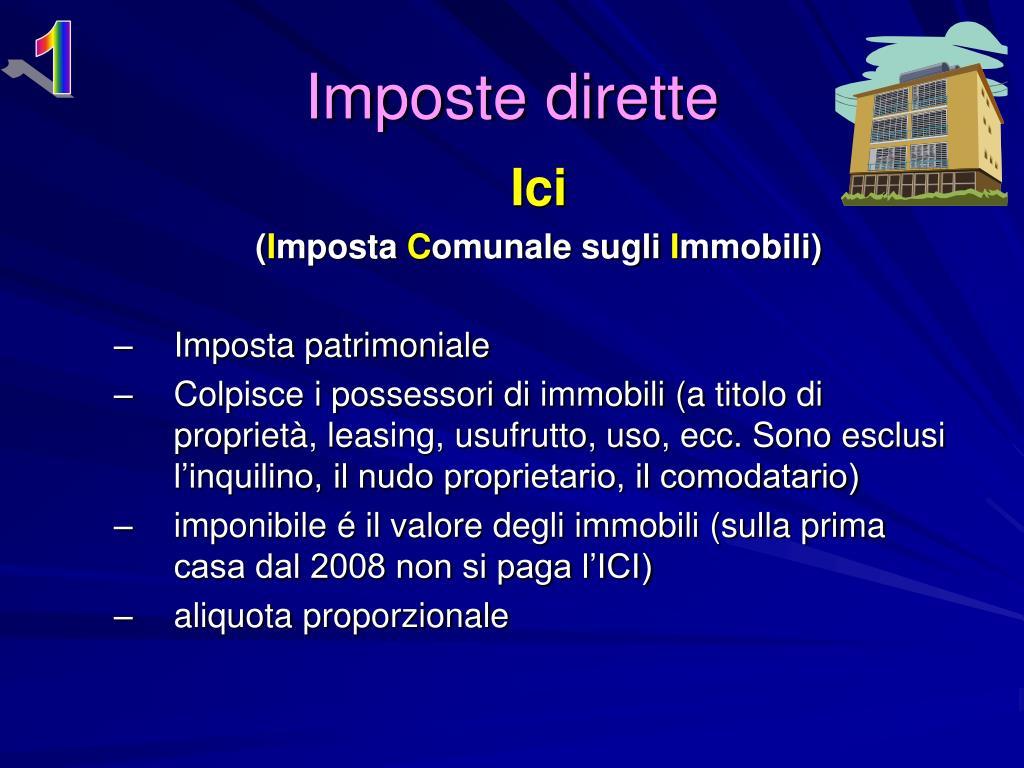 Ppt il sistema tributario in italia powerpoint presentation id 186717 - Patrimoniale sulla casa ...