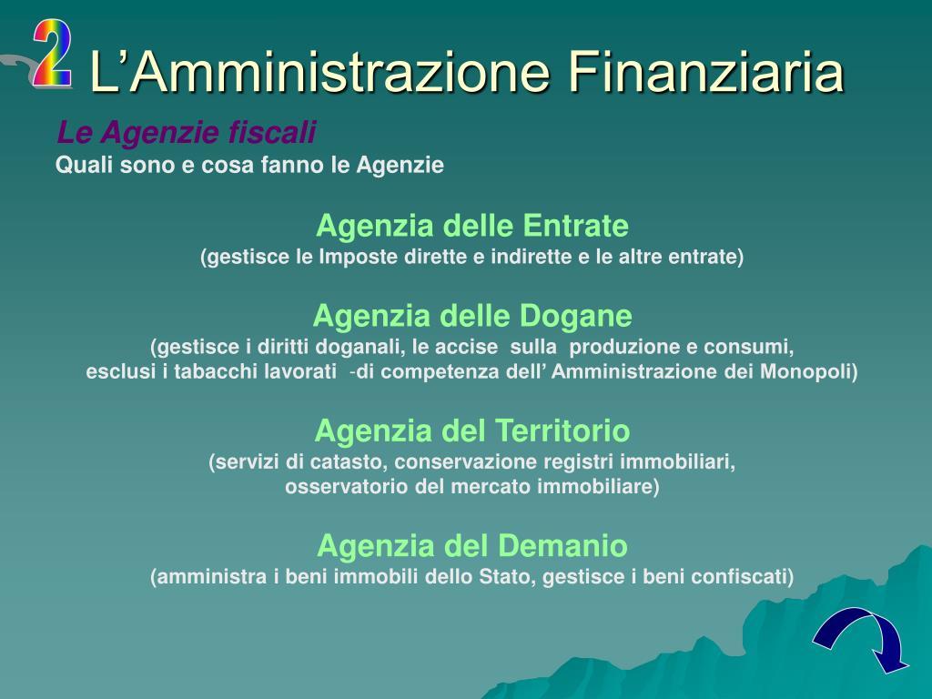 Ppt il sistema tributario in italia powerpoint presentation id 186717 - Agenzia immobiliare monopoli ...