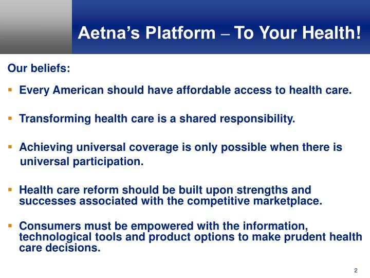 Aetna s platform to your health l.jpg