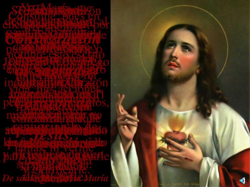 Te ruego encarecidamente, por tu bondad, que mi nombre esté escrito en Ti, ya que quiero construir toda mi dicha y toda mi gloria en vivir y morir llevando las cadenas de tu esclavitud.