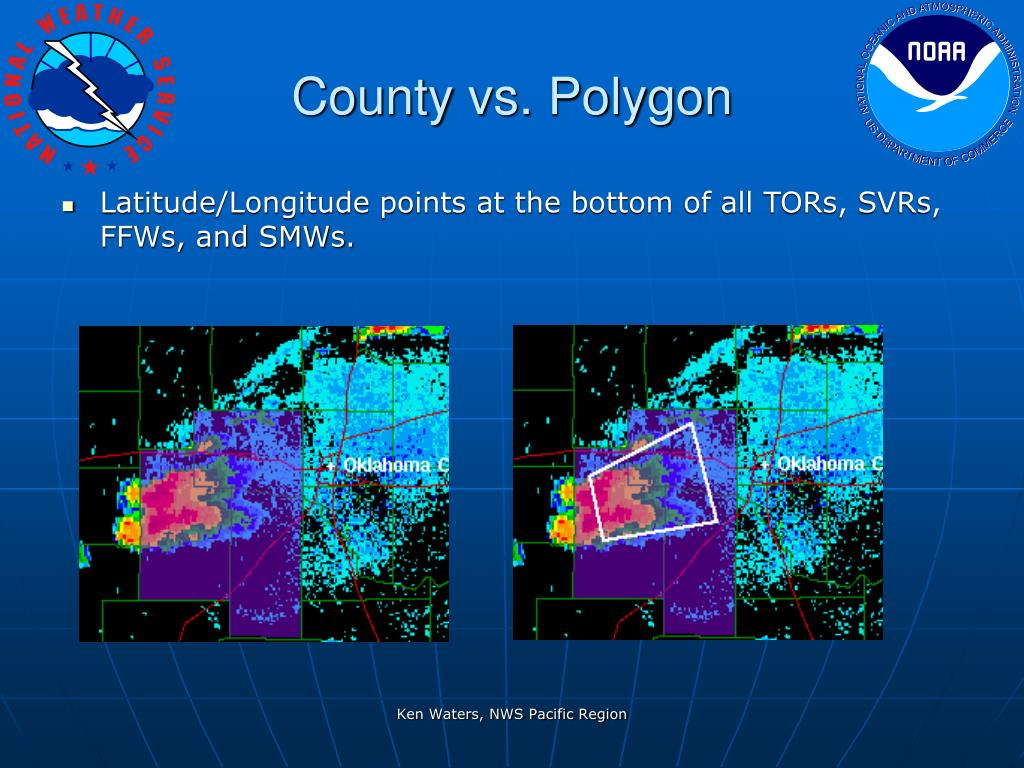 County vs. Polygon
