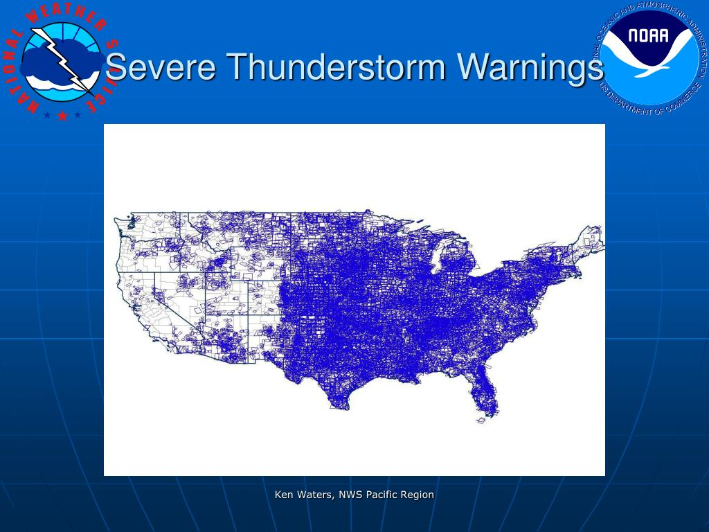 Severe Thunderstorm Warnings