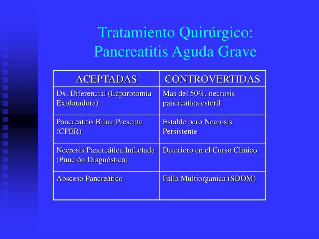 PPT - PANCREATITIS AGUDA PowerPoint Presentation - ID:187136