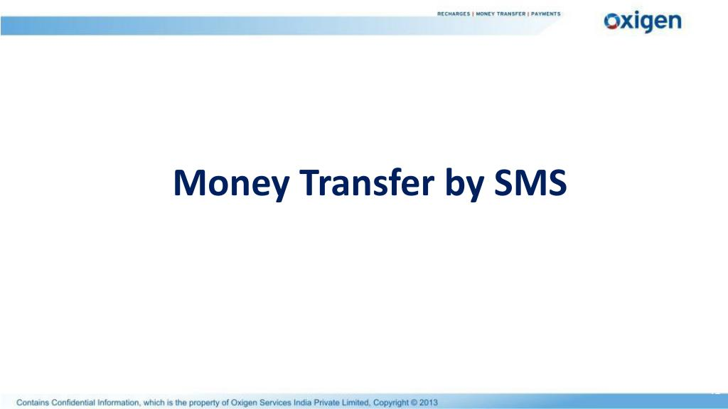 Money Transfer by SMS