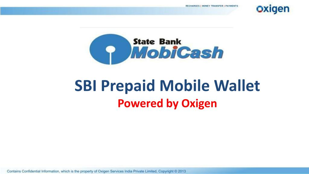 SBI Prepaid Mobile Wallet
