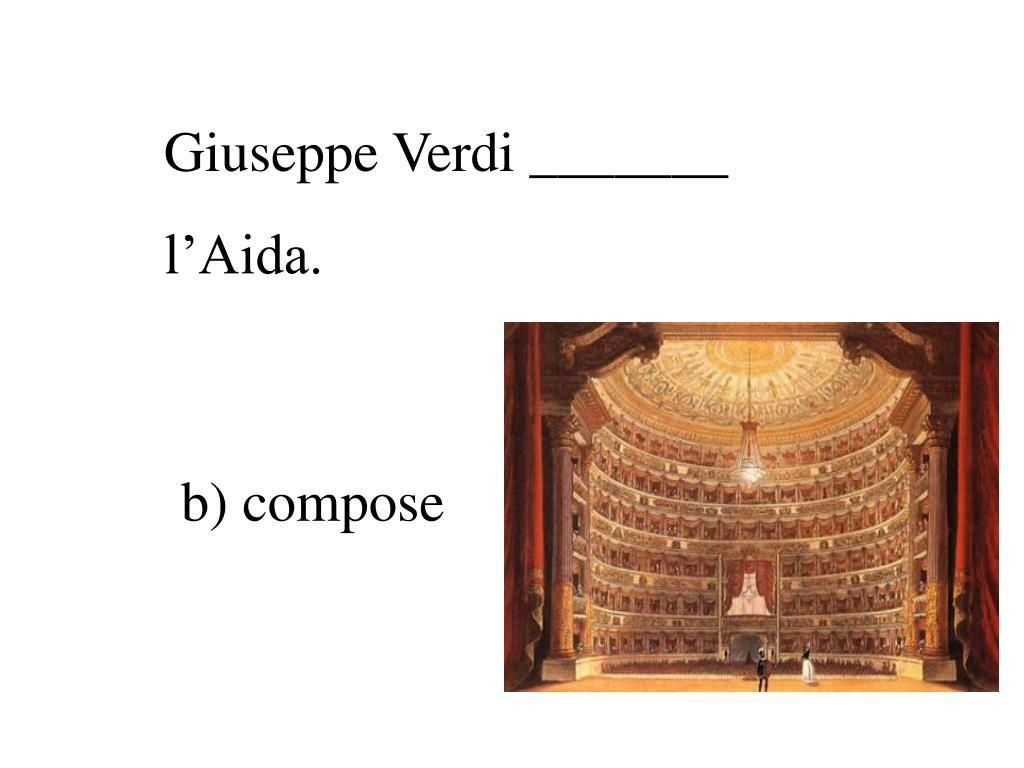 Giuseppe Verdi _______