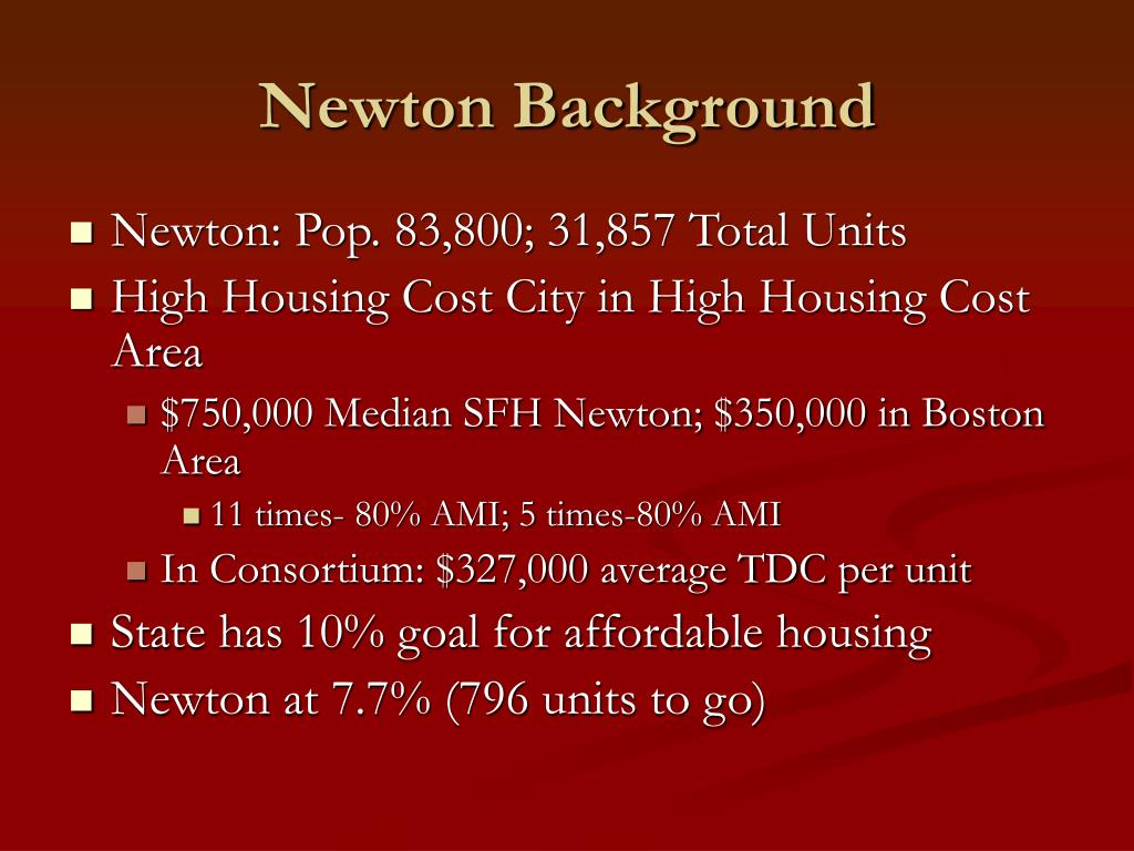 Newton Background