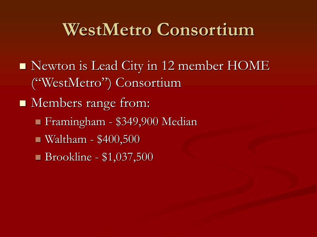 WestMetro Consortium