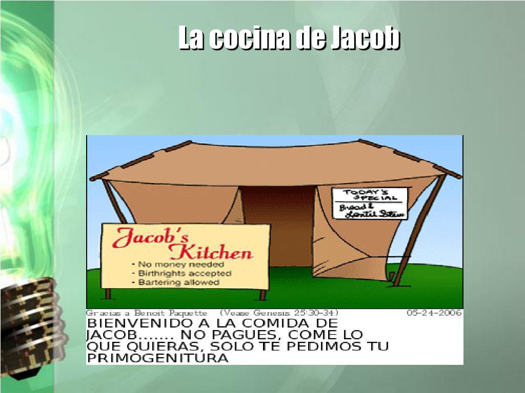La cocina de Jacob