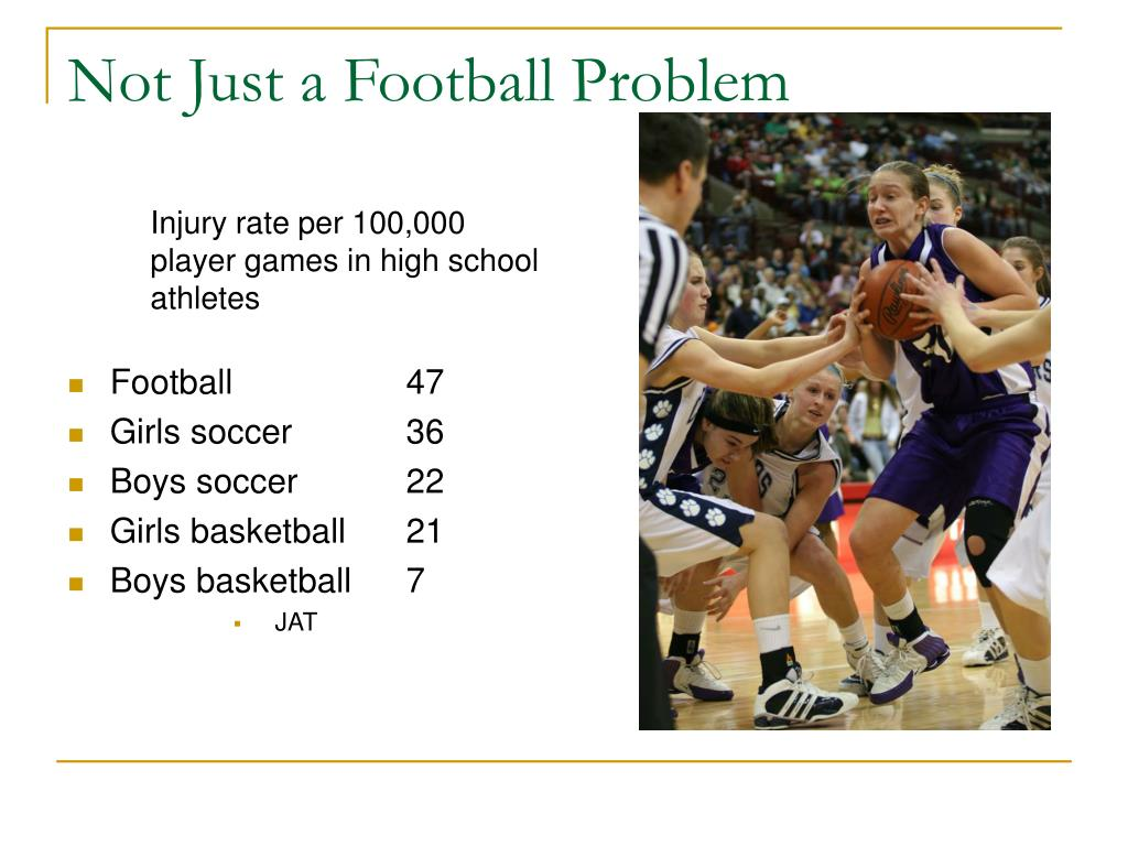 Not Just a Football Problem