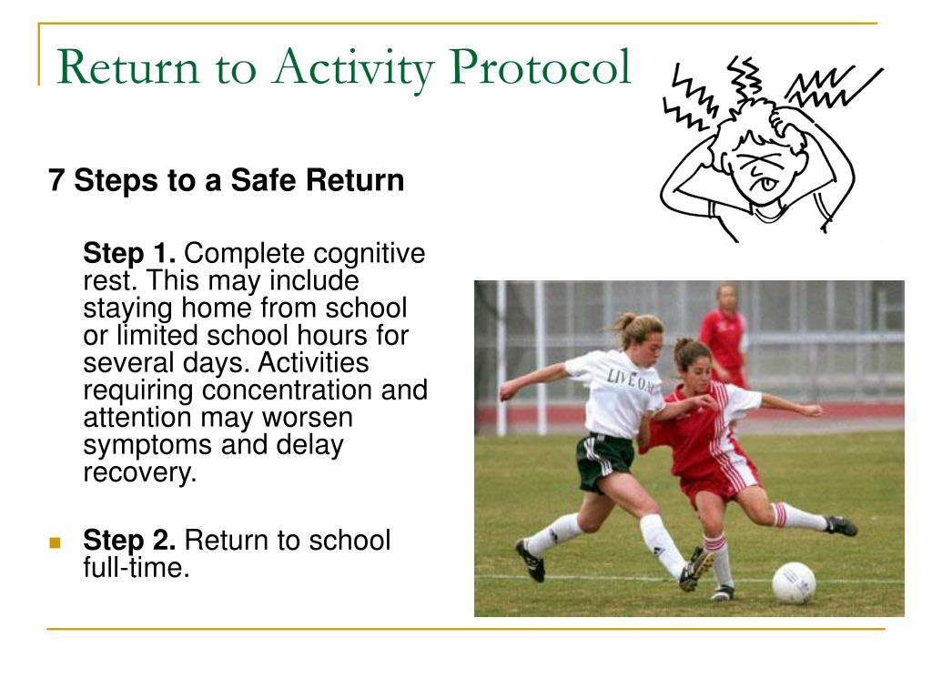 Return to Activity Protocol