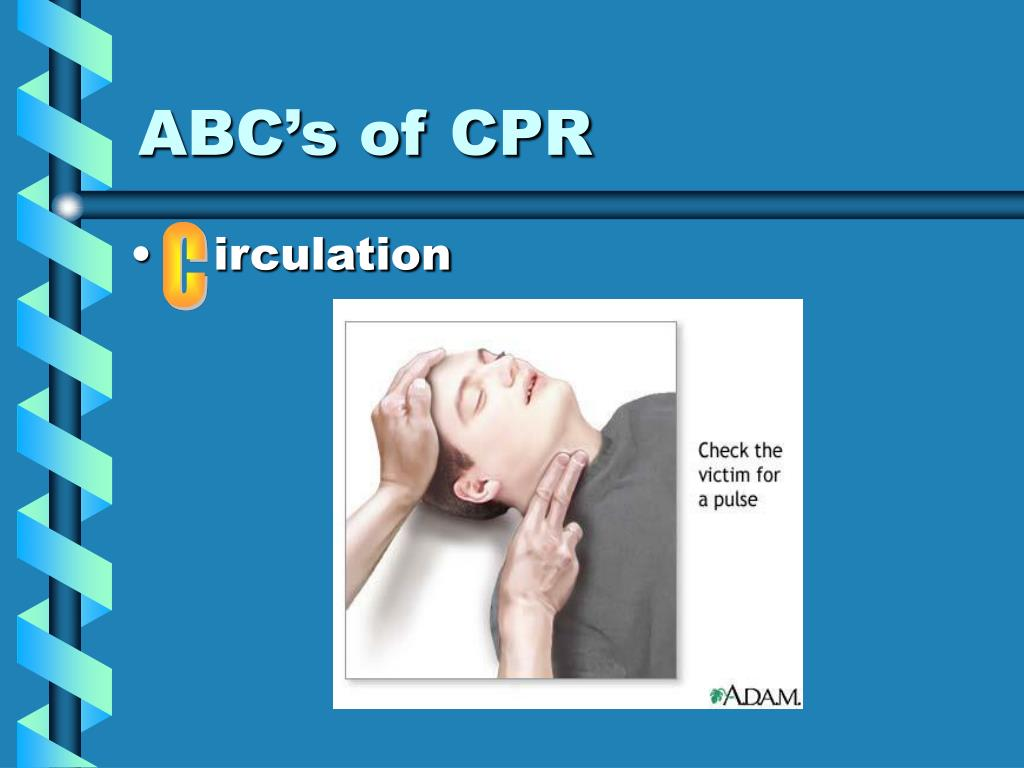 ABC's of CPR