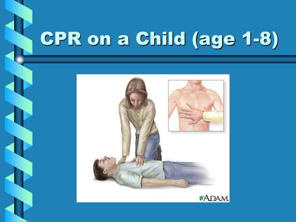 CPR on a Child (age 1-8)