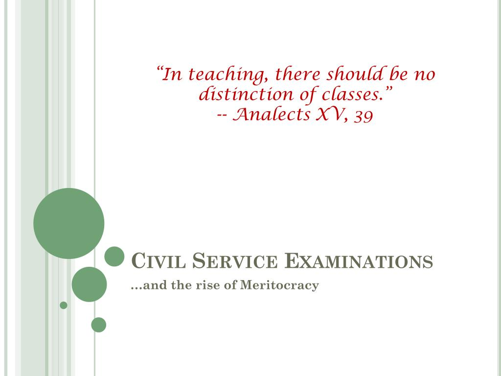 """""""In teaching, there should be no distinction of classes."""""""