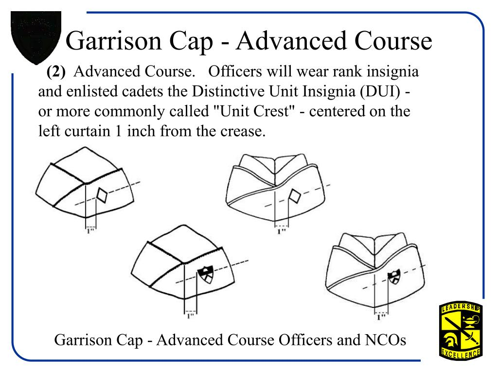 Garrison Cap - Advanced Course