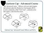 garrison cap advanced course