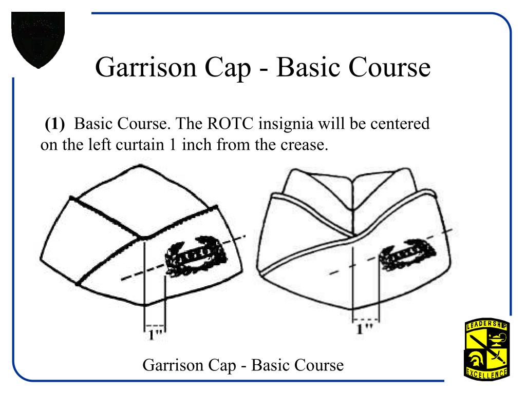 Garrison Cap - Basic Course