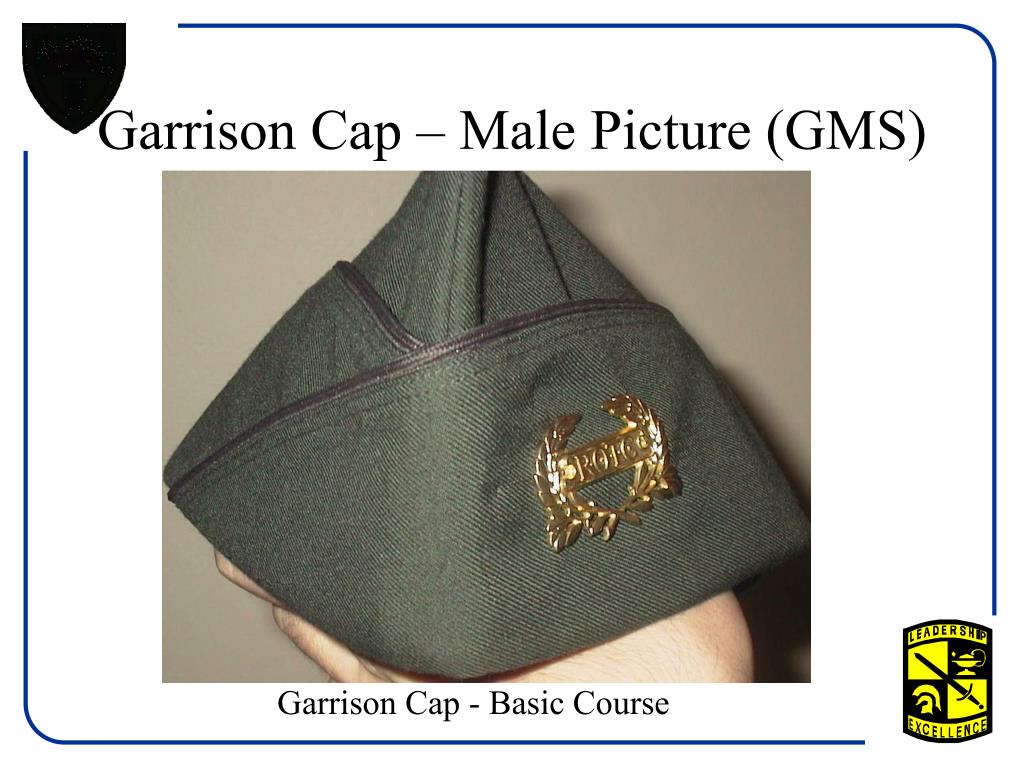 Garrison Cap – Male Picture (GMS)