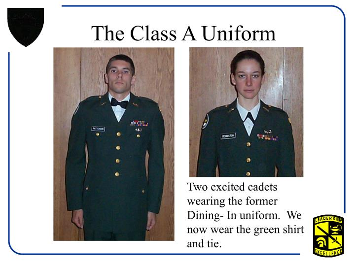 The Class A Uniform