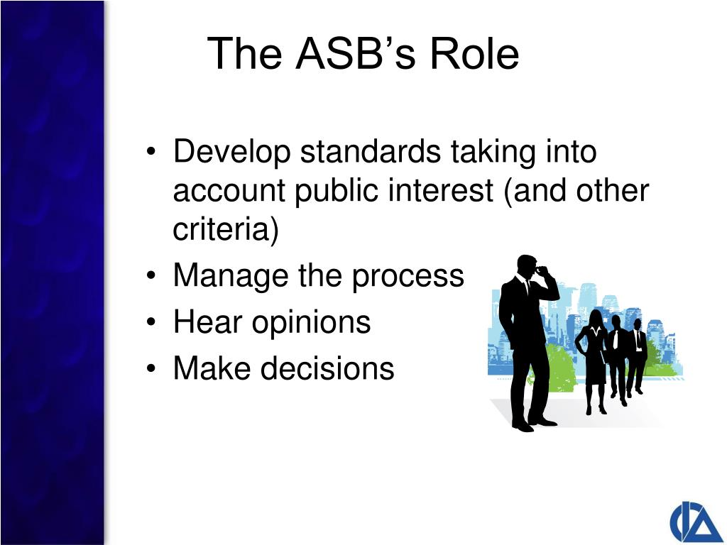 The ASB's Role