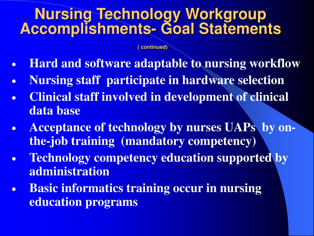 Nursing Technology Workgroup