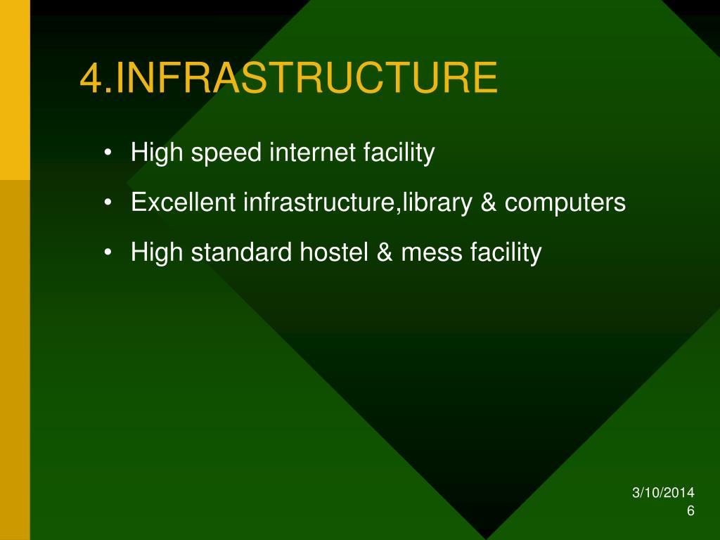 4.INFRASTRUCTURE