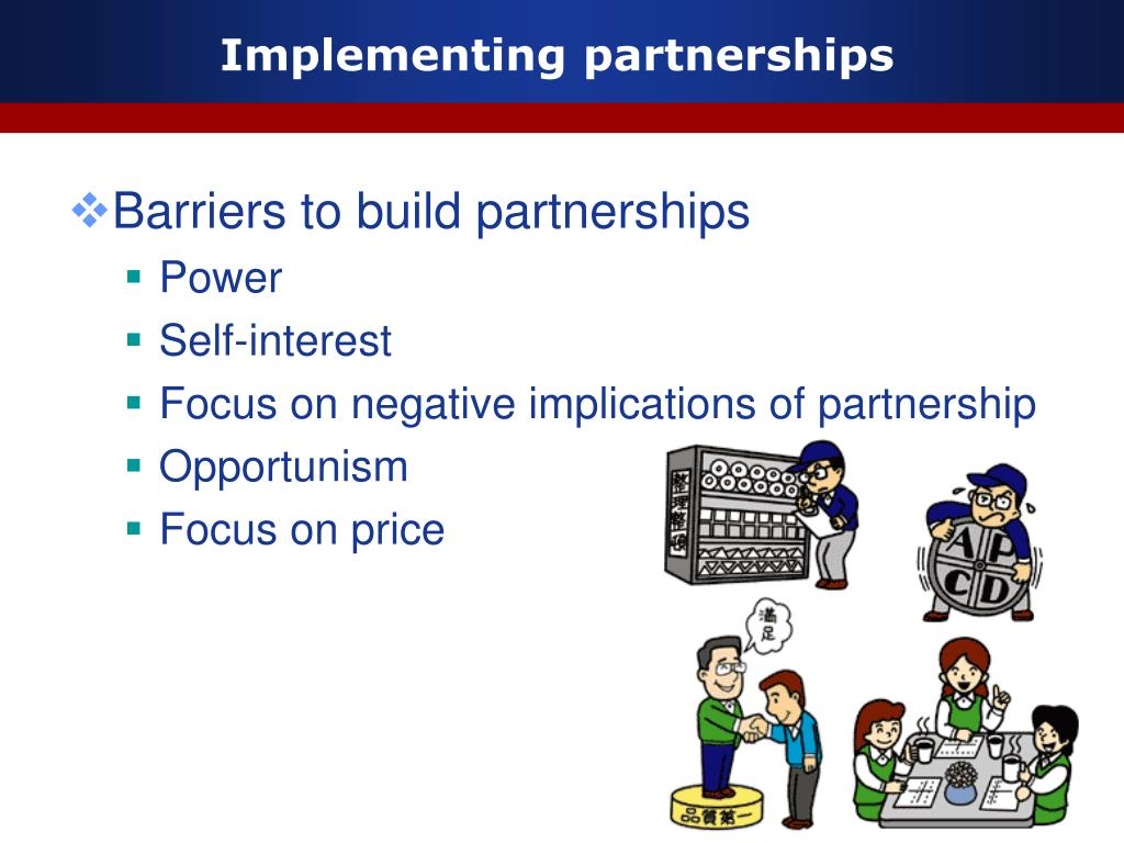Implementing partnerships