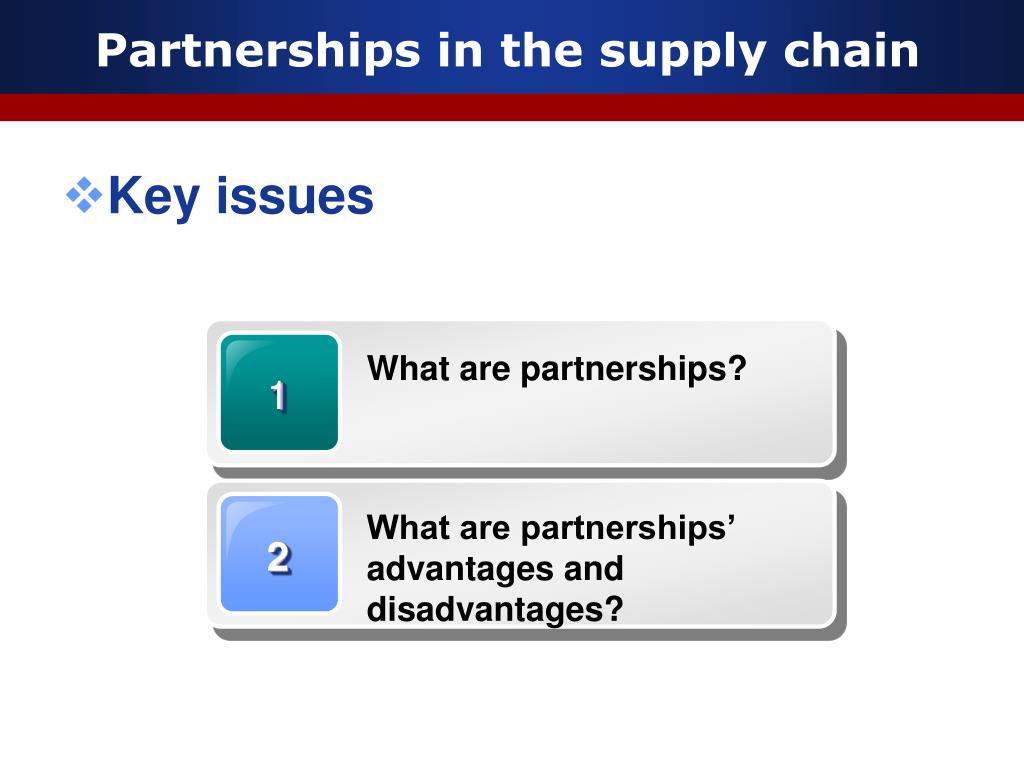 What are partnerships?