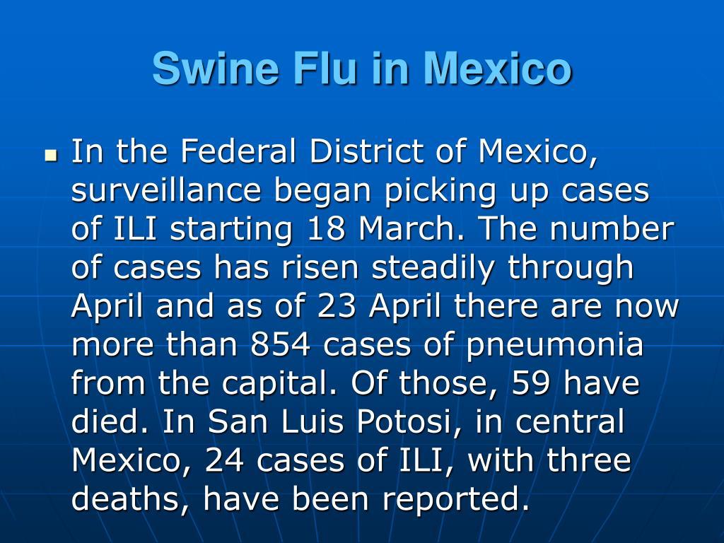 Swine Flu in Mexico