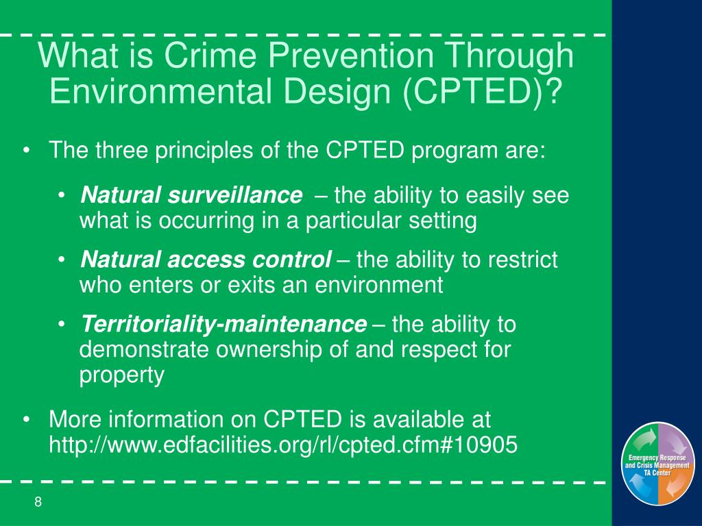 CPTED 101: Crime Prevention through Environmental Design – The Fundamentals for Schools