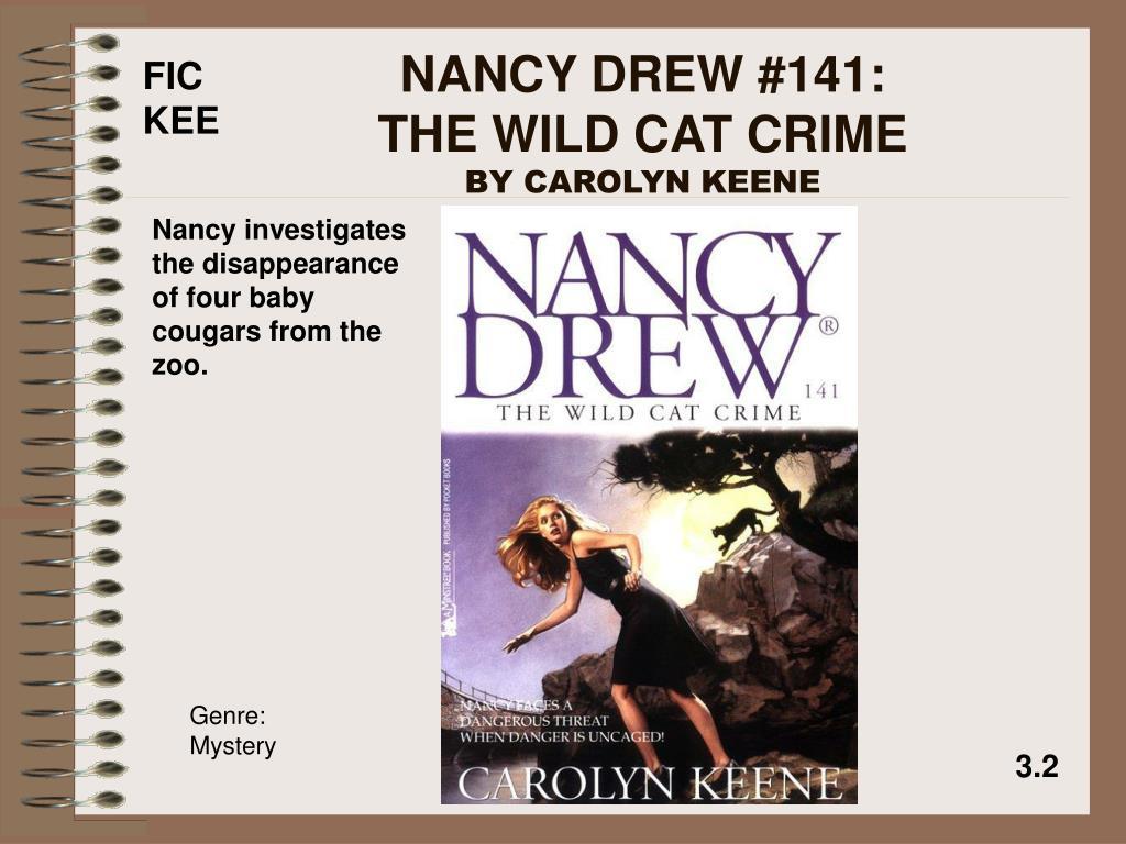 NANCY DREW #141:                  THE WILD CAT CRIME