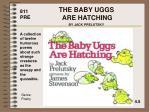 the baby uggs are hatching by jack prelutsky