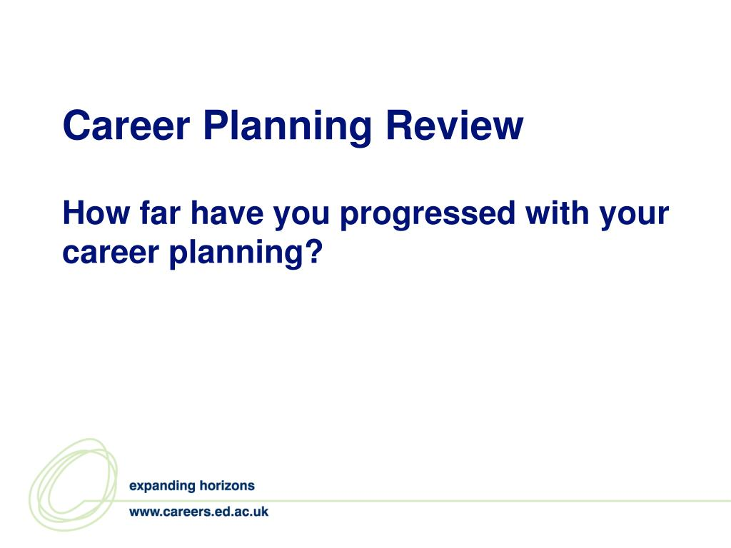 Career Planning Review