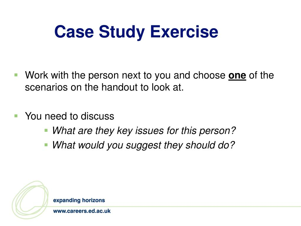 Case Study Exercise