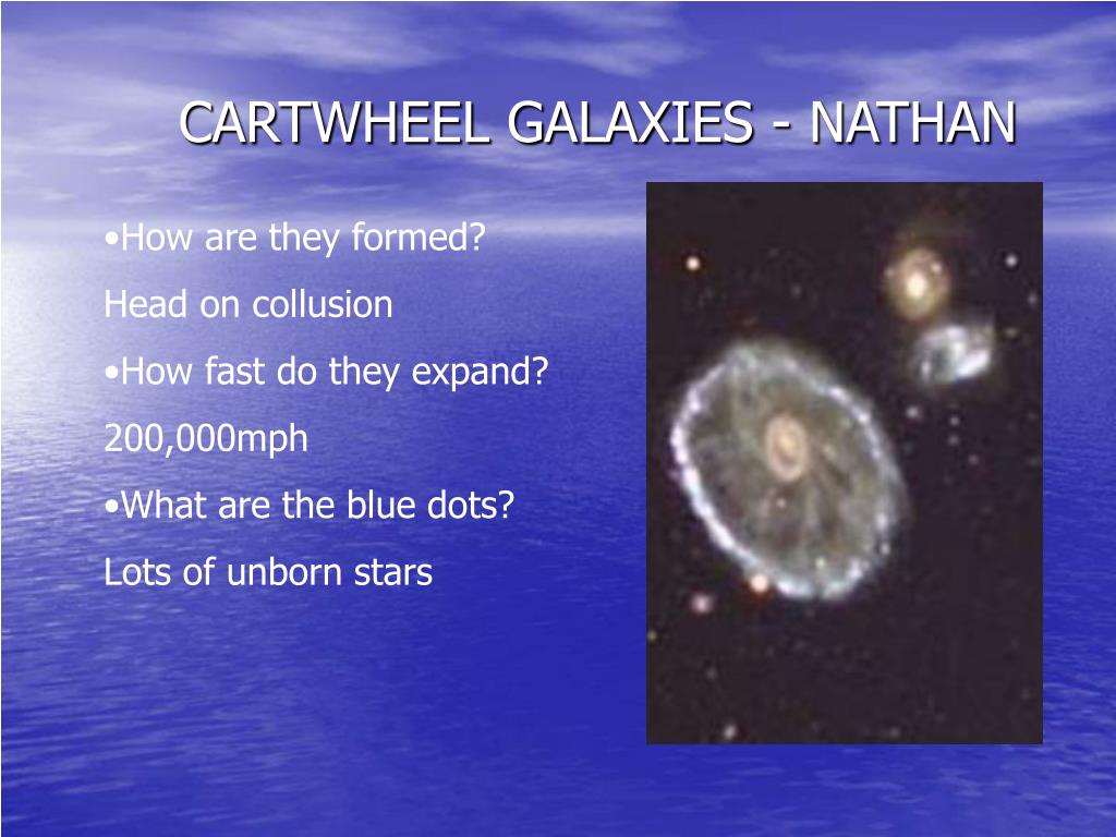 CARTWHEEL GALAXIES - NATHAN