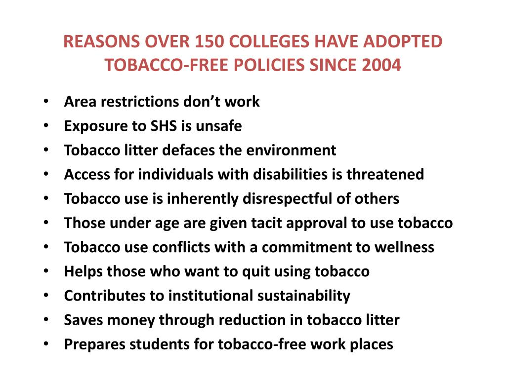 REASONS OVER 150 COLLEGES HAVE ADOPTED