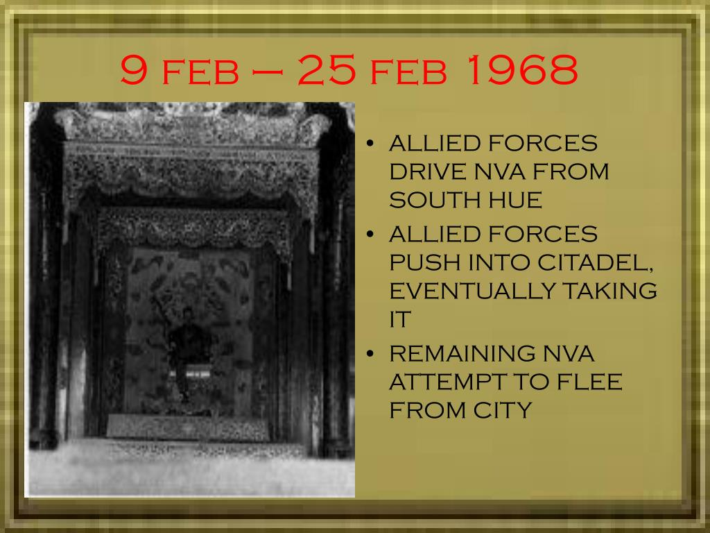 an analysis of the tet offensive Tet offensive - tet offensive january 31, 1968 one of the largest military campaigns of the vietnam war, launched on january 30, 1968 by forces of the viet cong and north vietnamese  | powerpoint ppt presentation | free to view.