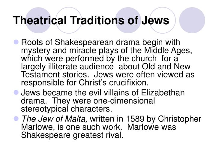 Theatrical traditions of jews