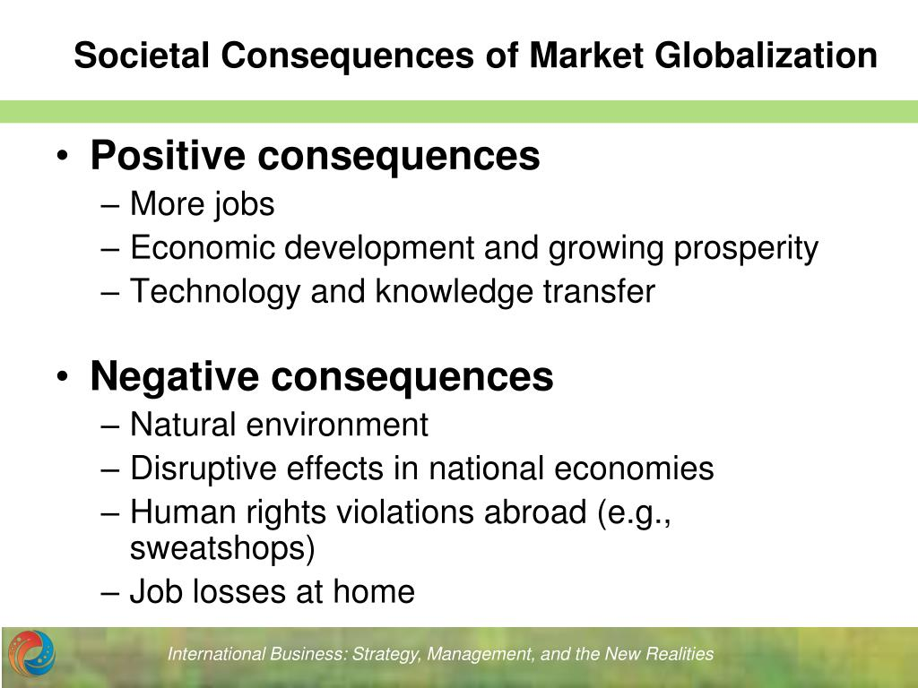 negative and positive effects of globalization on human resource training and development