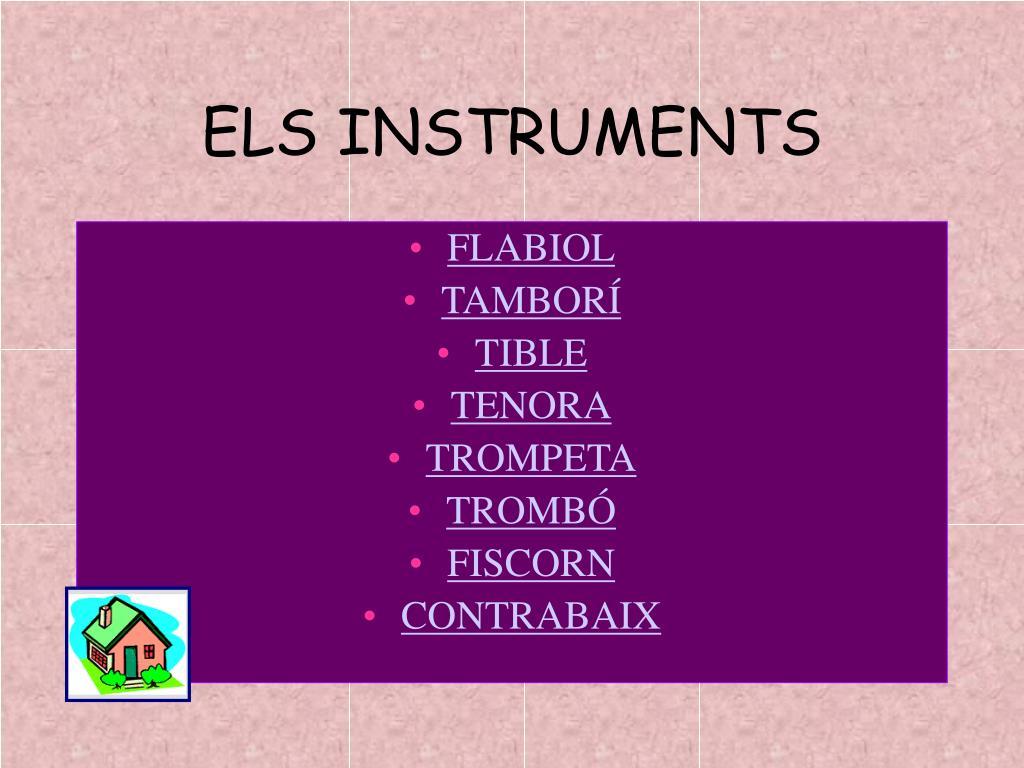 ELS INSTRUMENTS
