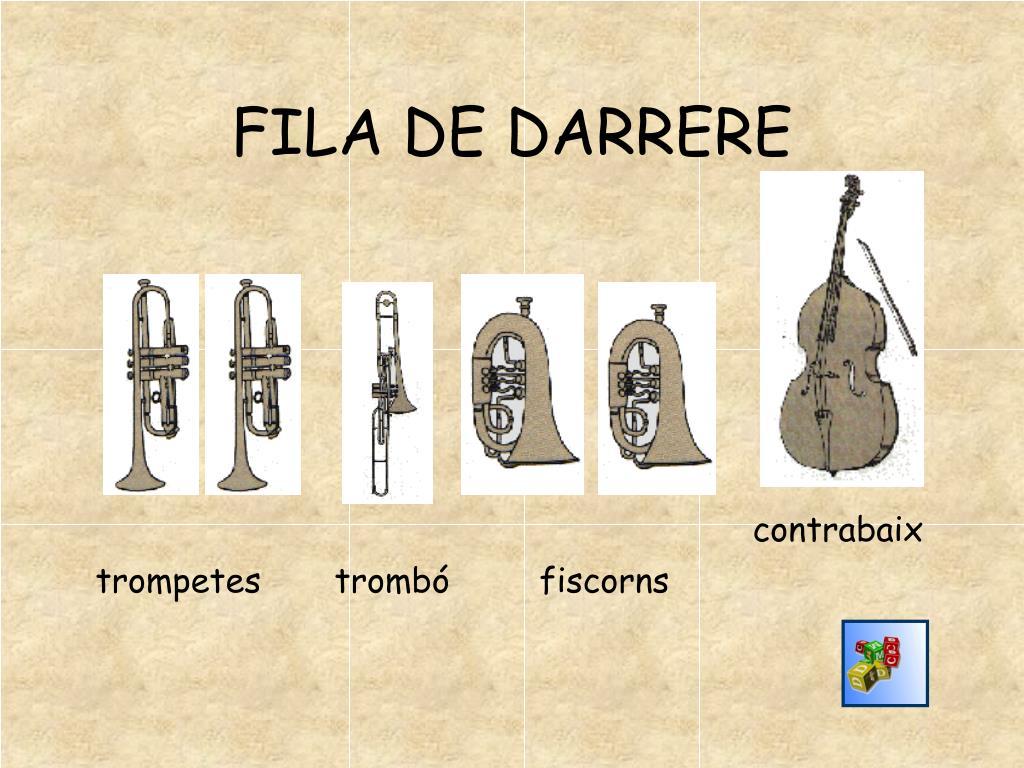 FILA DE DARRERE